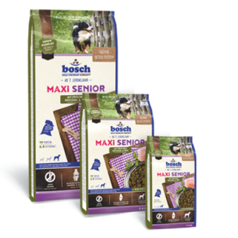 Maxi Senior with fresh Poultry & Rice